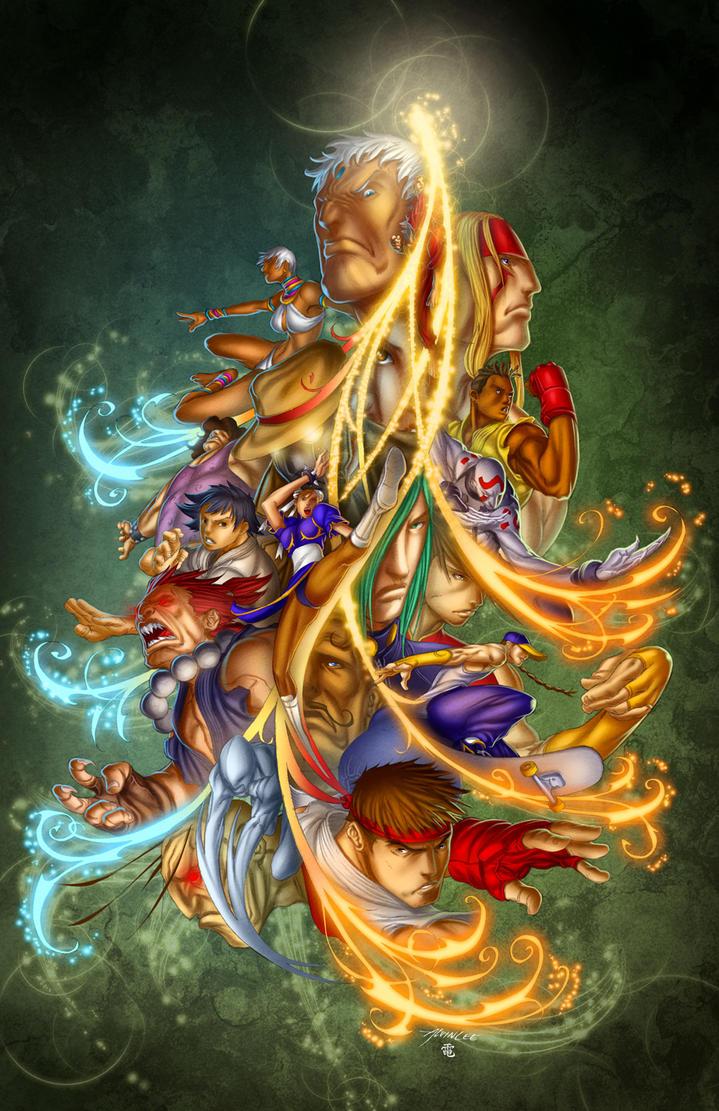 Street Fighter - Contest by StriderDen