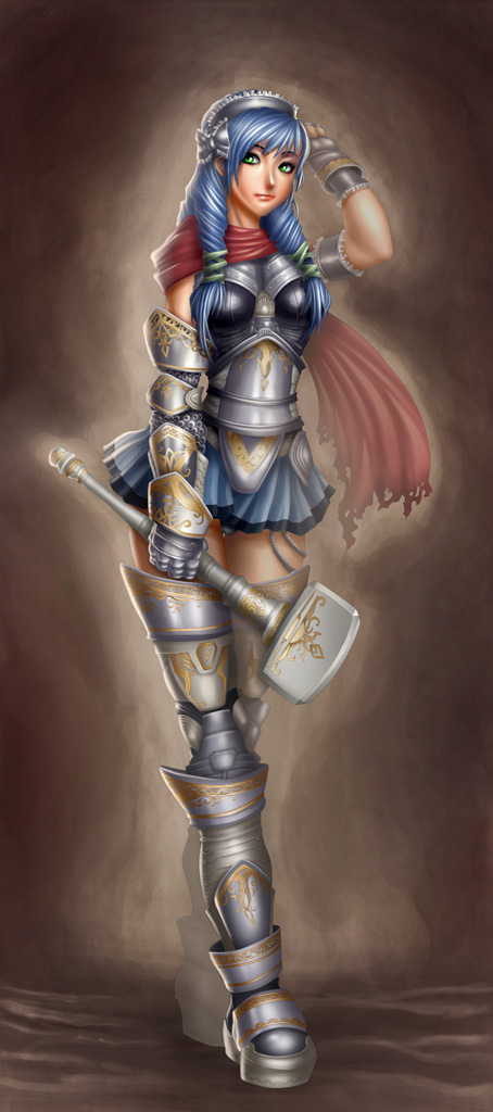 Warrior Girl by StriderDen