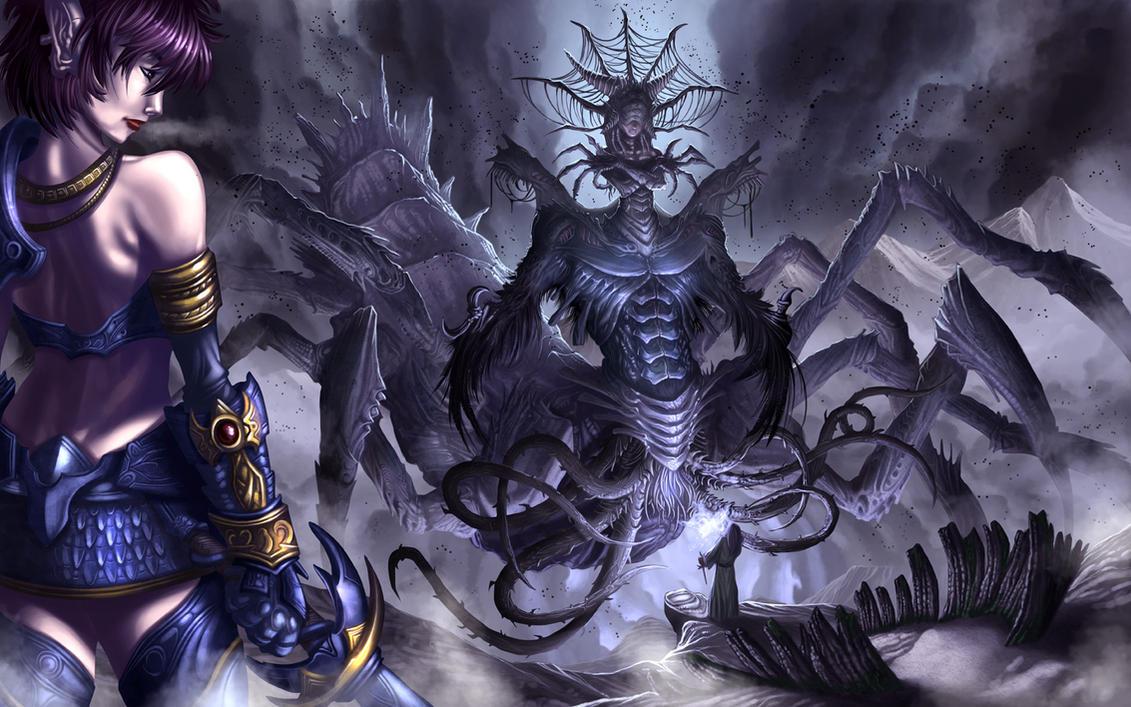 Plague Mistress:Death Colossus by StriderDen