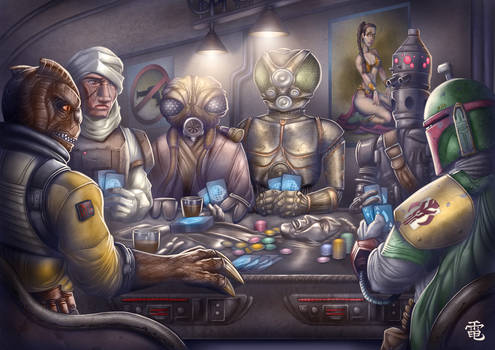 Star Wars Mercs Commission by StriderDen