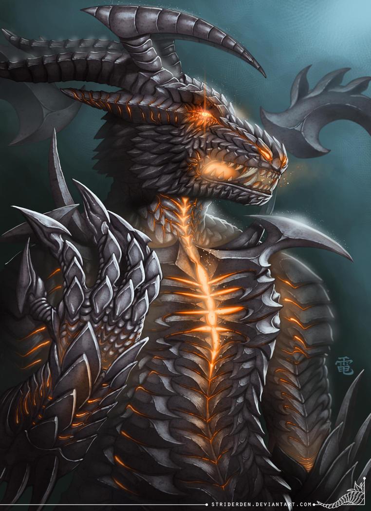 Delvion's Hatred Commission by StriderDen