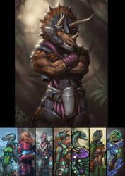 Dinosaucers Series - Tricero [Repost]