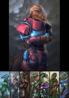 Dinosaucers Series - Bonehead [Repost]