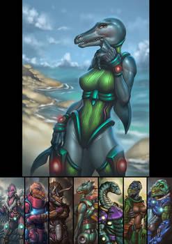 Dinosaucers Series - Ichy [Repost]