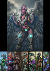Dinosaucers Series - Teryx [Repost]
