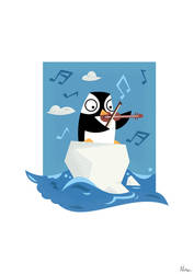 South Pole Musical Penguin
