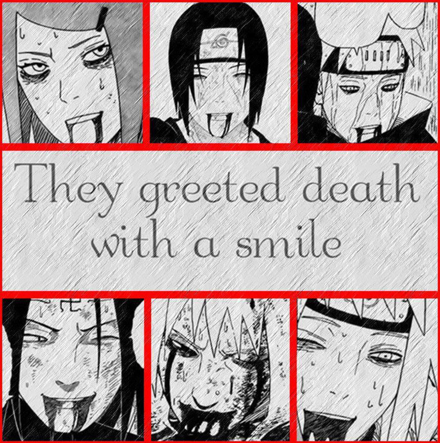 Naruto: Smiling at Death by ManosRockman on DeviantArt