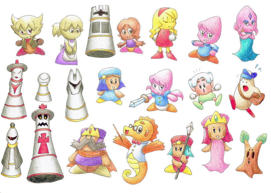 Image Gallery kirby character