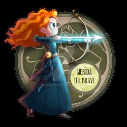 MERIDA, THE BRAVE