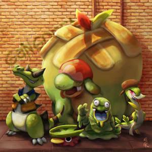 Gangreen Gang - Pokemon