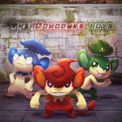 The Rowdyruff Boys: Elemental Monkeys