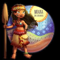 Moana, The Explorer