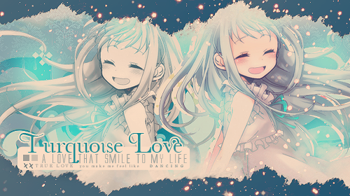 Firma: Turquoise Love by jazyuzumaki