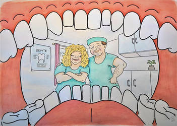Dentist and his wife