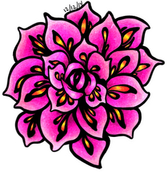Vibrant Flower by SmileyDoppelganger