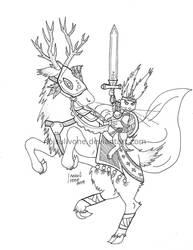 Deer knight