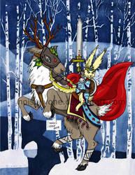 Deer knight (Color)