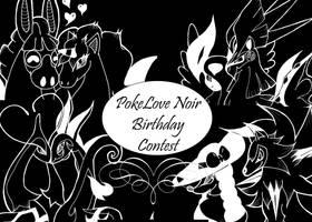 PokeLove Noir Birthday Contest