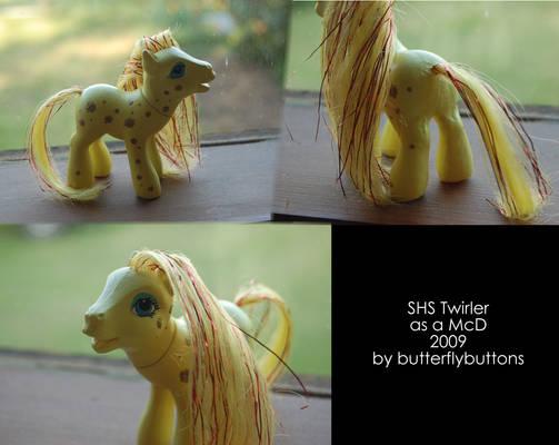 Twinkler McD pony