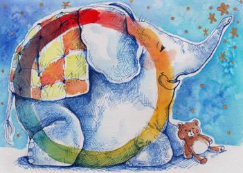 Dreamy elephant
