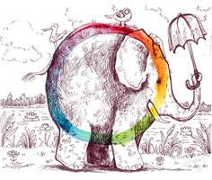 Elephant ColorWheel