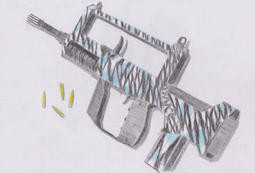 FAMAS Modified, The Winter Tigress. by AWFAK47
