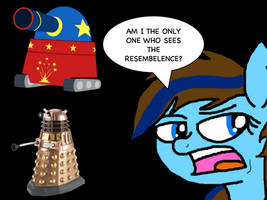 random Dalek/ Party tank rant XD by Timelord909