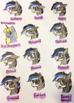 Misty (GoGo) character facial study