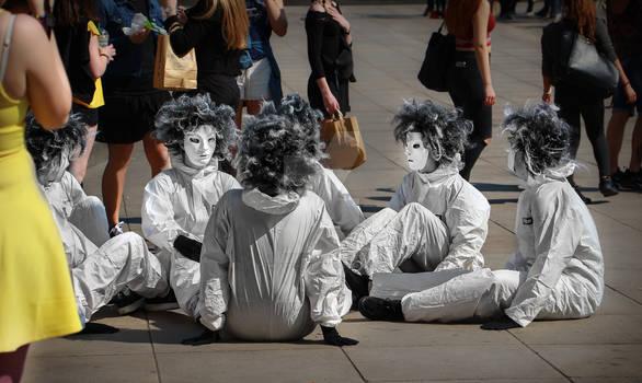 Mascarade a Alexanderplatz