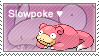 Slowpoke Stamp by LizkMB