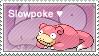 Slowpoke Stamp by LizkMB