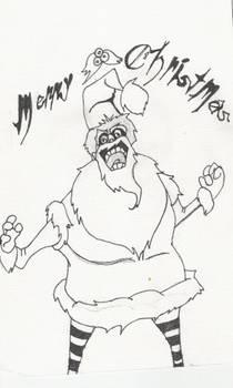 Hello ho ho, mr. Sandy Clause