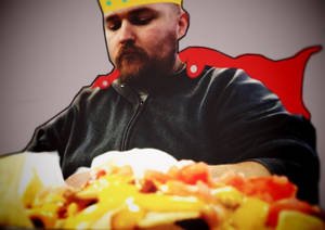 King nacho, ruler of all things cheesy!