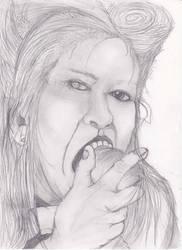 Turmoil Of The Mind Of Cathrine Boon by Blackhorseofcthulhu