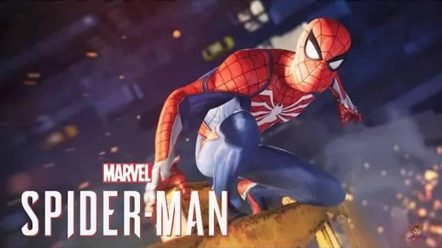 slight custom spiderman ps4 wallpaper
