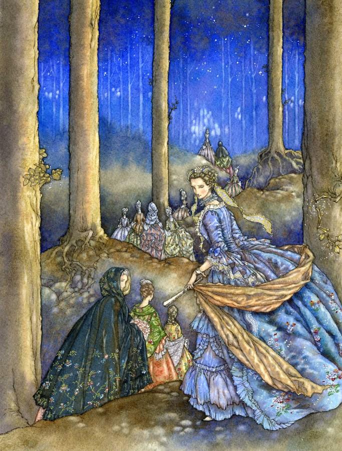 The Twelve Dancing Princesses by Himmapaan
