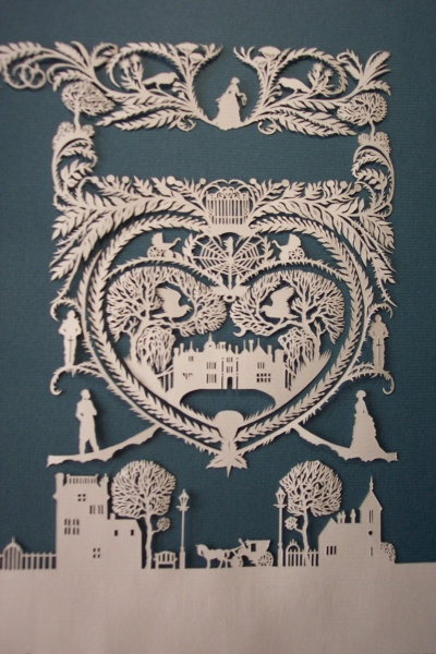Papercut for 'The Seance' by Himmapaan