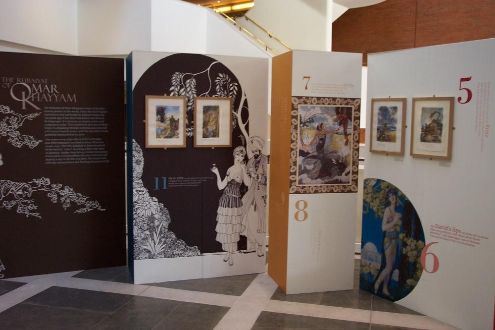 Rubaiyat Exhibition 1 by Himmapaan
