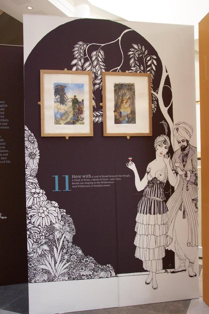 Rubaiyat Exhibition 4 by Himmapaan