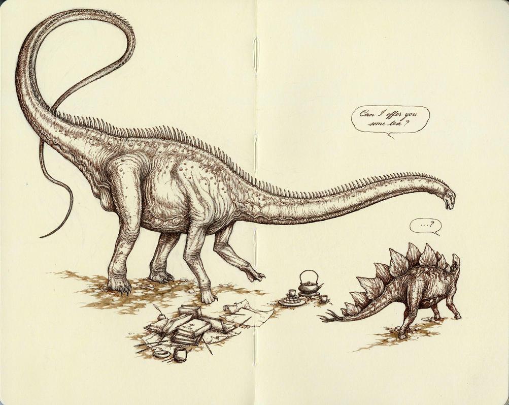 Himmapaan as Diplodocus by Himmapaan