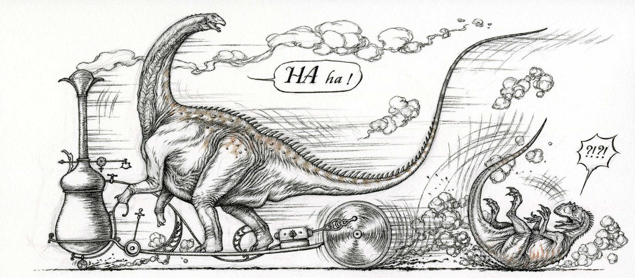 'Aprontosaurus' by Himmapaan