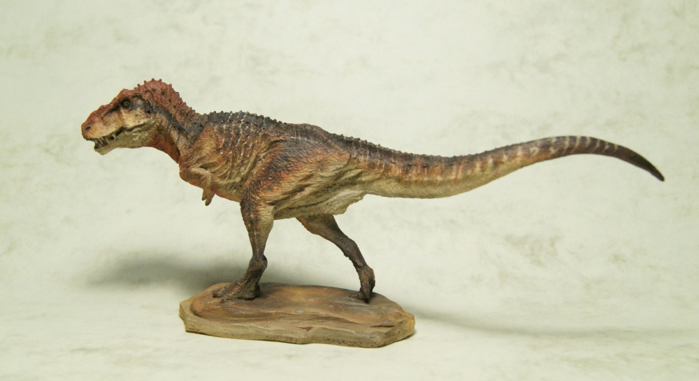 Painted Krentz 1:72 Antediluvia T.rex 2 by Himmapaan