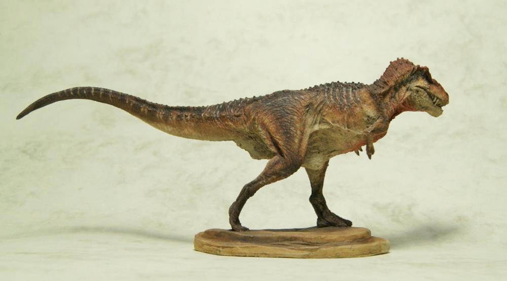 Painted Krentz 1:72 Antediluvia T.rex 3 by Himmapaan