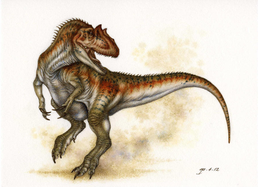 Another Allosaur by Himmapaan