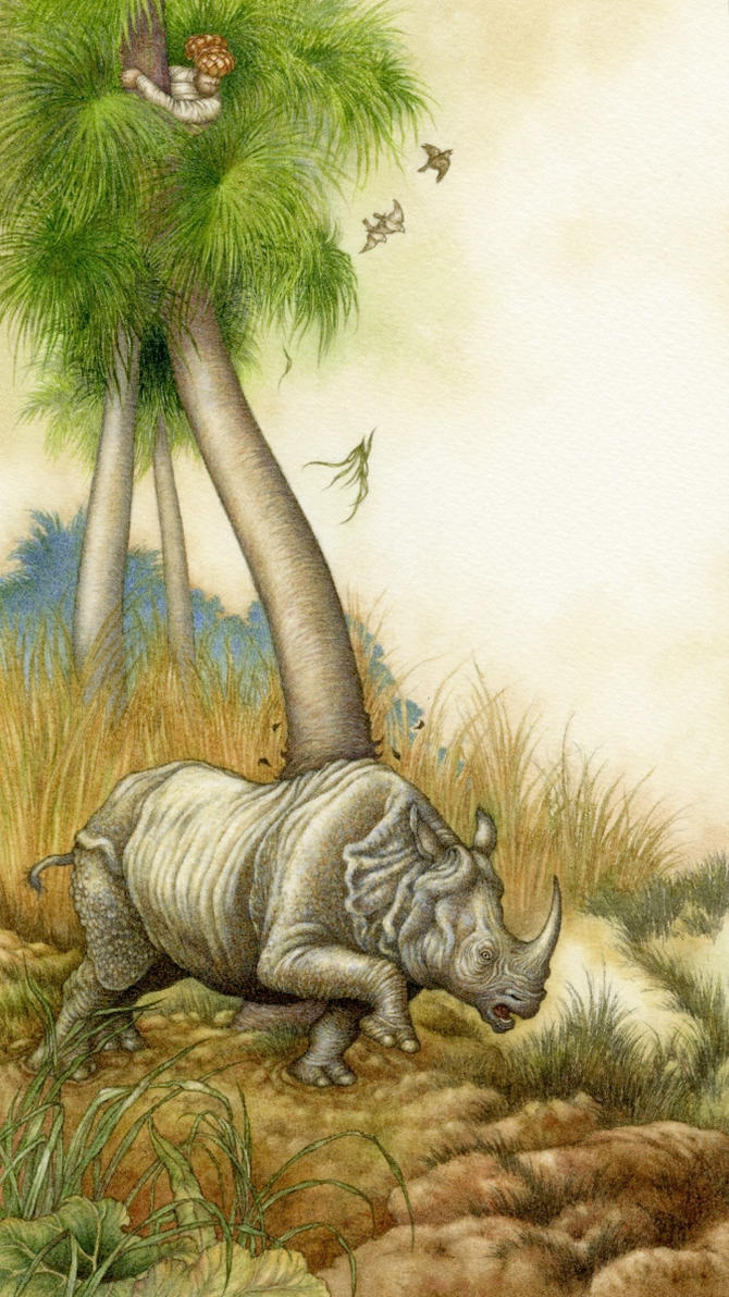 How the Rhinoceros got His Skin by Himmapaan