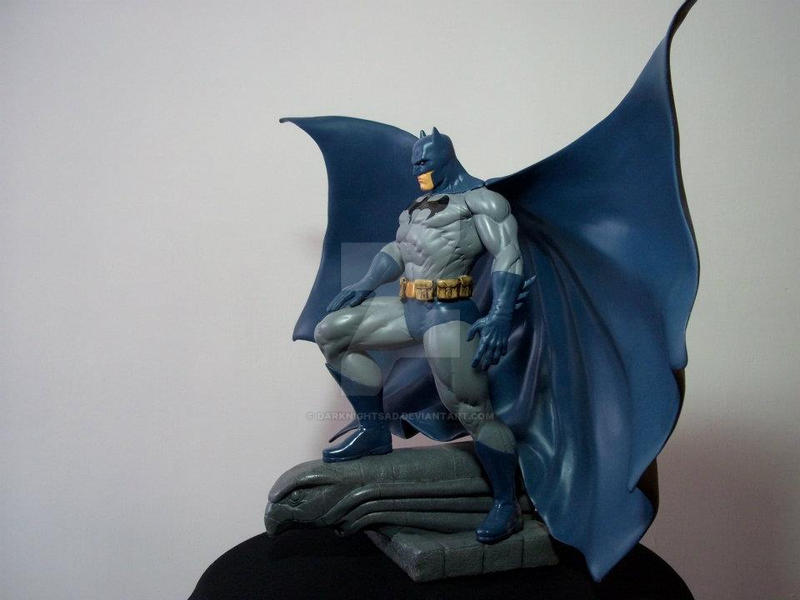 batman hush statue based on jim lee cover by darknightsad