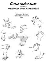 Werewolf Paw Ref by CookieAsylum