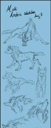 Micki Anders Sketches 01 by CookieAsylum
