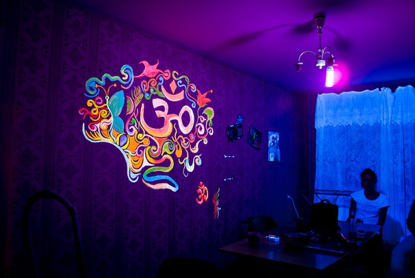 Fluorescent wall by PortalVeronique on DeviantArt