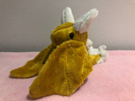 Gold Wyvern plush